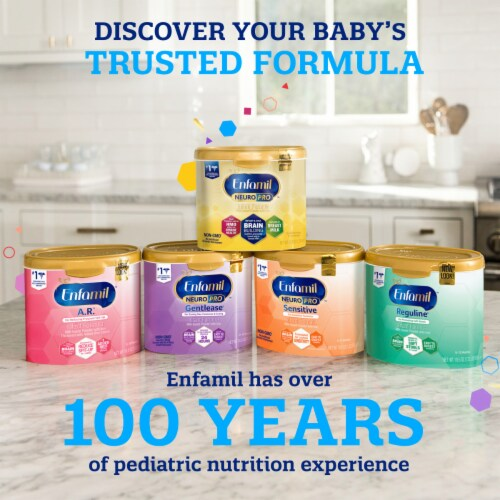 Enfamil™ NeuroPro Non-GMO Infant Formula Powder with Iron Perspective: top
