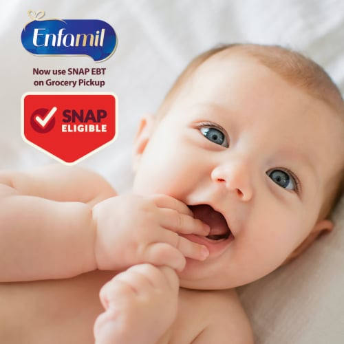 Enfamil NeuroPro Sensitive Infant Formula Milk-Based Powder with Iron Perspective: top