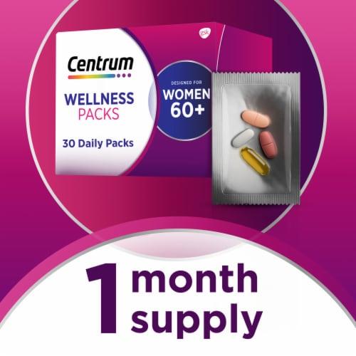 Centrum Womens 60+ Daily Wellness Packs Perspective: top