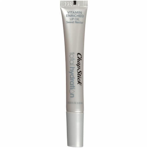 ChapStick Total Hydration Vitamin Enriched Sweet Nectar Lip Oil Perspective: top