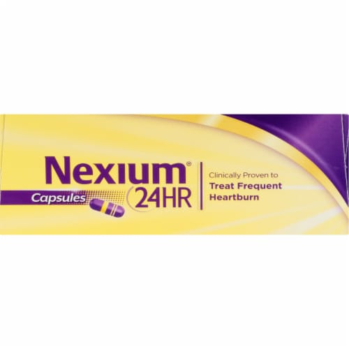 Nexium 24-Hour Delayed Release Heartburn Relief Capsules 20mg Perspective: top
