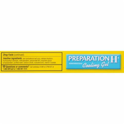 Preparation H Hemorrhoidal Cooling Gel Perspective: top