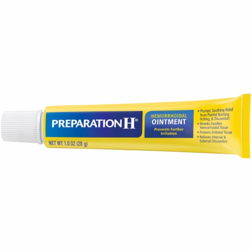 Preparation H Hemorrhoidal Ointment Perspective: top
