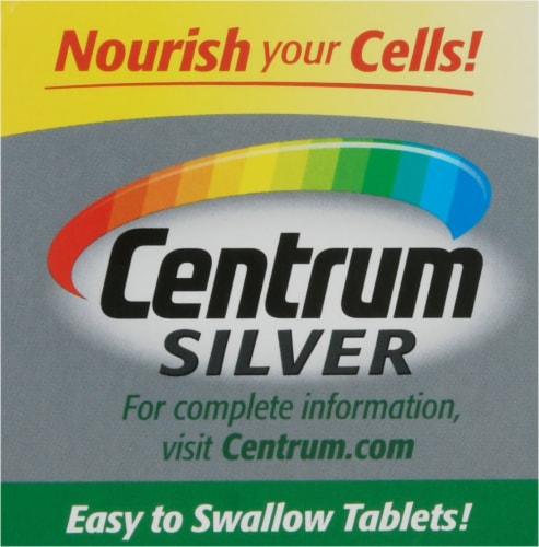 Centrum® Silver Adults 50+ Multivitamin Supplement Tablets Perspective: top