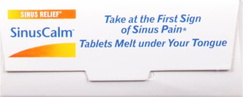 Boiron® SinusCalm Quick-Dissolving Tablets Perspective: top