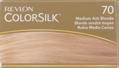 Revlon Colorsilk 70 Medium Ash Blonde Hair Color Perspective: top