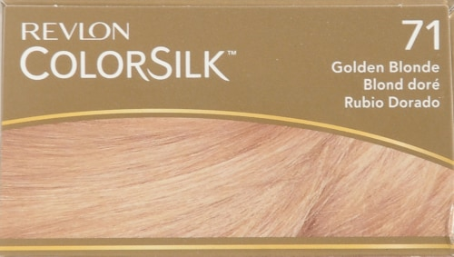 Revlon Colorsilk Golden Blonde 71 Hair Color Perspective: top
