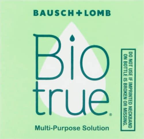 Bausch & Lomb Bio True Multipurpose Solution Perspective: top