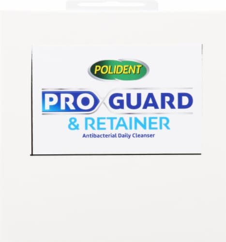 Polident ProGuard & Retainer Antibacterial Daily Cleanser Tablets Perspective: top