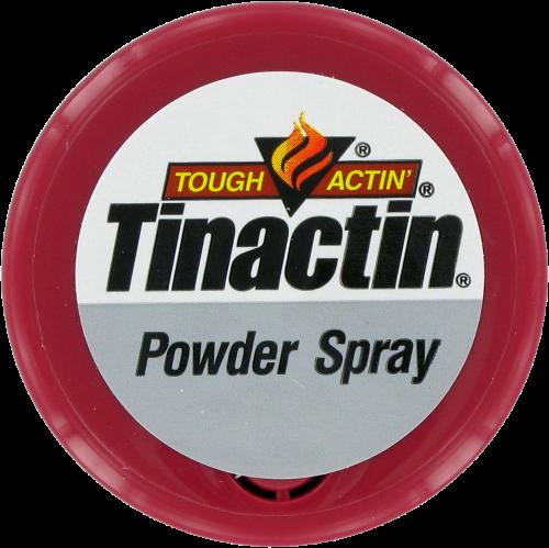 Tinactin® Athlete's Foot Powder Spray Perspective: top