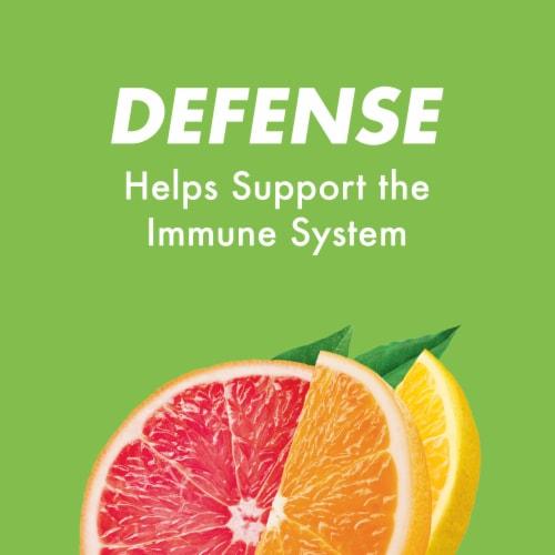 HALLS Defense Sugar Free Assorted Citrus Flavor Vitamin C Dietary Supplement Drops 25 Count Perspective: top