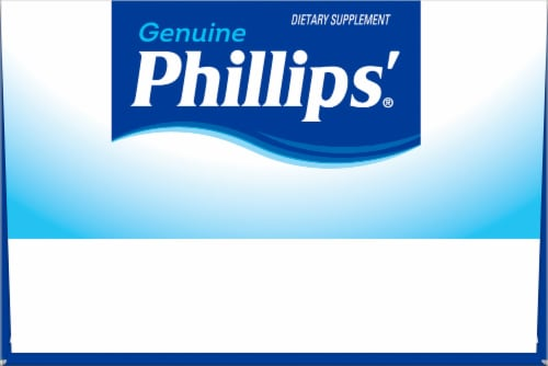 Phillip's® Laxative Caplets Perspective: top