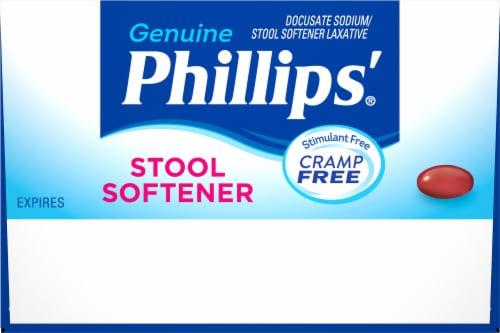 Phillips® Stool Softener Liquid Gels Perspective: top