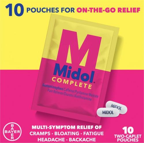 Midol® Complete Multi-Symptom Relief Caplets Perspective: top
