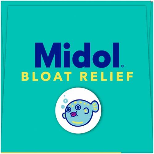 Midol Bloat Relief Caplets Perspective: top