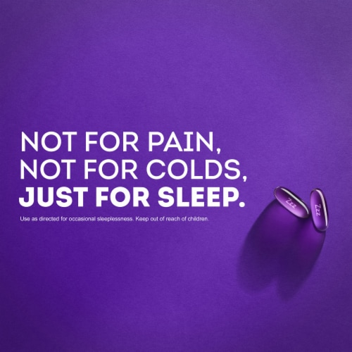 Vicks® ZzzQuil™ Nighttime Sleep-Aid LiquiCaps Perspective: top