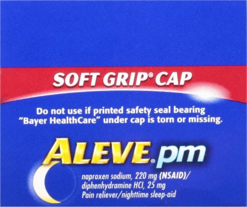 Aleve PM Sleep Aid Caplets Perspective: top