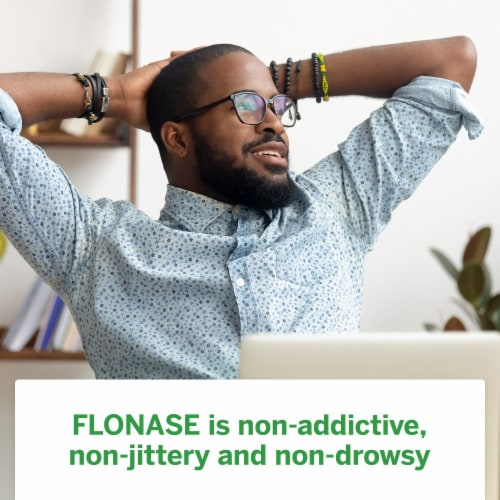 Flonase Non-Drowsy 24-Hour Allergy Relief Nasal Spray Perspective: top