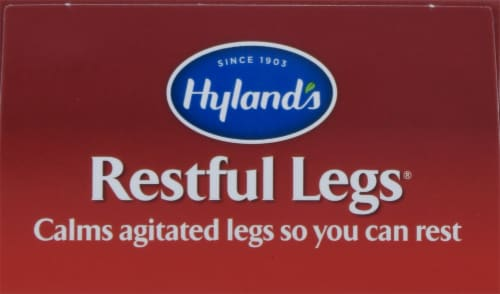 Hyland's Restful Legs Tablets Perspective: top