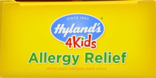 Hyland's 4 Kids Allergy Relief Tablets Perspective: top