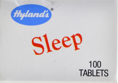 Hyland's Homeopathic Sleep Aid Tablets Perspective: top