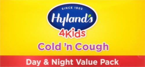 Hyland's 4 Kids Cold 'n Cough Daytime & Nighttime Value Pack Perspective: top