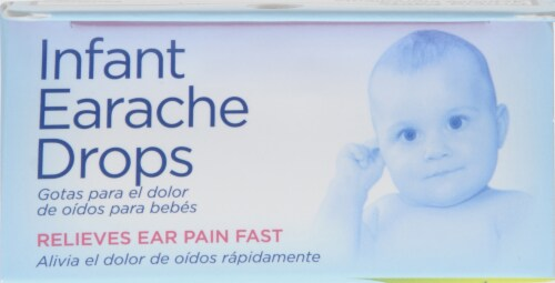 Hyland's Baby Homeopathic Infant Earache Drops Perspective: top
