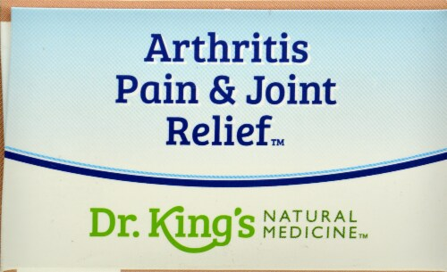 Dr. King's Arthritis Pain & Joint Relief Perspective: top