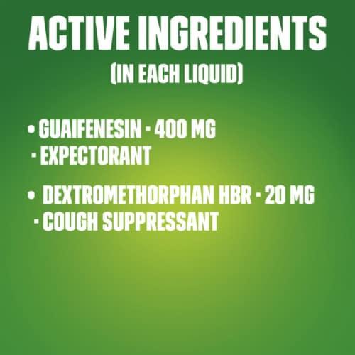 Mucinex Maximum Strength Fast-Max DM Cough & Chest Congestion Medicine Liquid Perspective: top