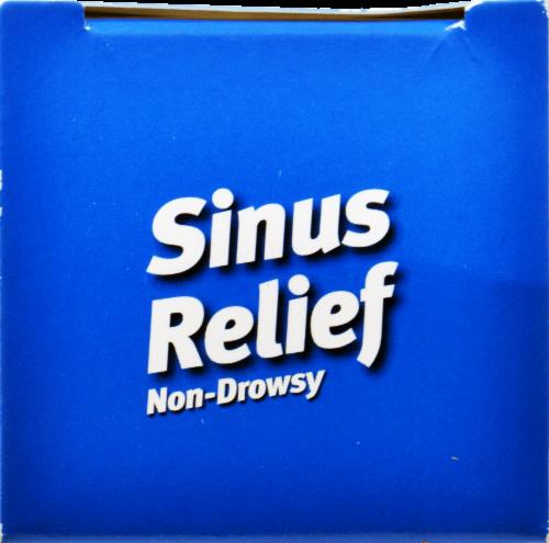 NatraBio Sinus Relief Liquid Perspective: top