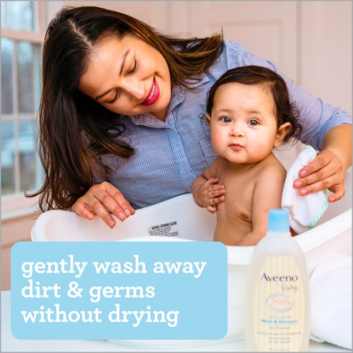Aveeno Baby Wash & Shampoo Perspective: top