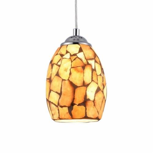CHLOE Lighting KAI Mosaic 1 Light Ceiling Mini Pendant 5  Shade Perspective: top