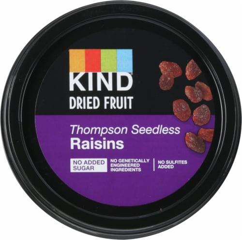 KIND® Thompson Seedless Raisins Perspective: top