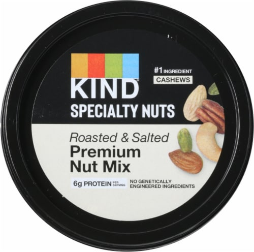 KIND® Roasted and Salted Premium Nut Mix Perspective: top