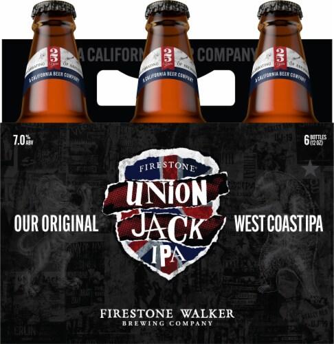Firestone Walker Union Jack IPA Beer Perspective: top
