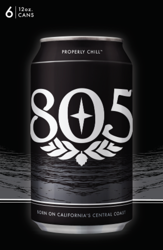 Firestone Walker 805 Ale Beer Perspective: top