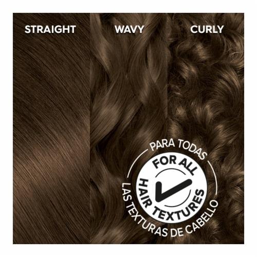 Garnier Olia 5.03 Medium Neutral Brown Hair Color Perspective: top