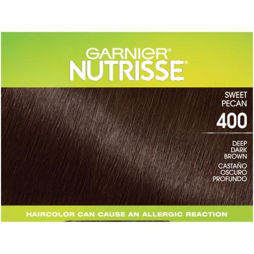Garnier® Nutrisse® Ultra Coverage 400 Sweet Pecan Hair Color Perspective: top