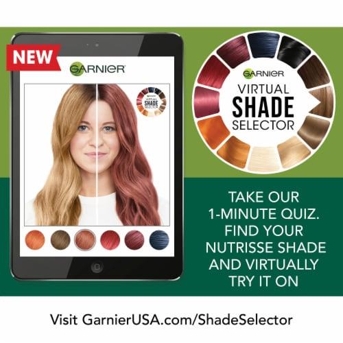 Garnier® Nutrisse® Ultra Coverage 500 Glazed Walnut Hair Color Perspective: top