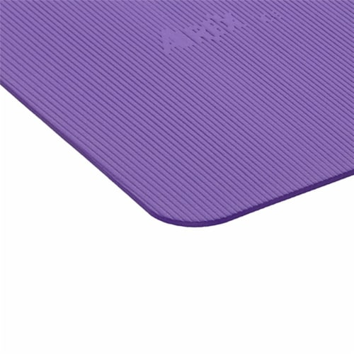 Airex Yoga/Pilates 190 Closed Cell Foam Fitness Mat for Home and Gym Use, Purple Perspective: top
