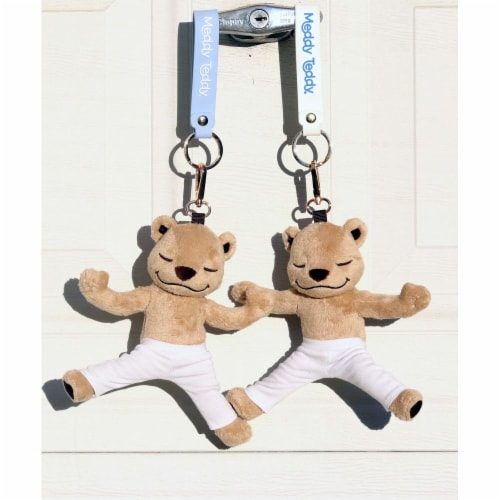Meddy Teddy Keychain Perspective: top