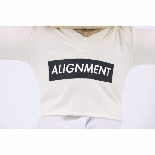 Alignment Shirt - Meditation T Shirt for Meddy Teddy Perspective: top