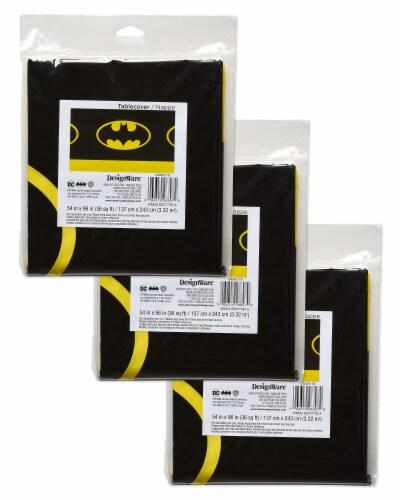 American Greetings Batman Plastic Table Covers Perspective: top
