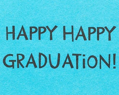 Papyrus Graduation Card (Dip-llama) Perspective: top