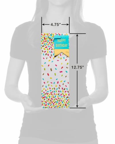 American Greetings #9 All Occasion Confetti Beverage Bag Perspective: top