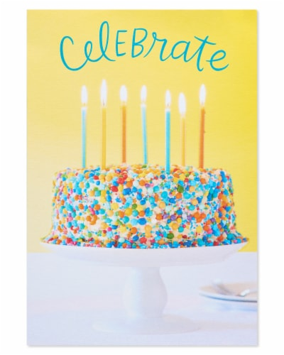 American Greetings #32 Birthday Cards (Celebrate) Perspective: top