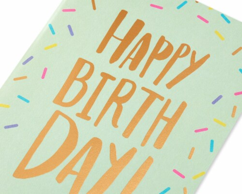 American Greetings #64 Birthday Card (Make it Amazing) Perspective: top