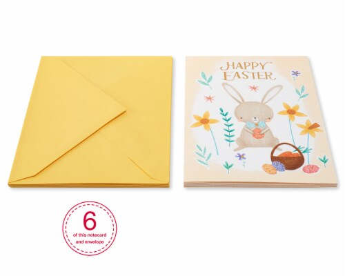 American Greetings #54 Easter Cards (Easter Bunny) Perspective: top