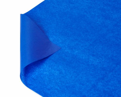 American Greetings #13 All Occasion Blue Tissue Paper Perspective: top