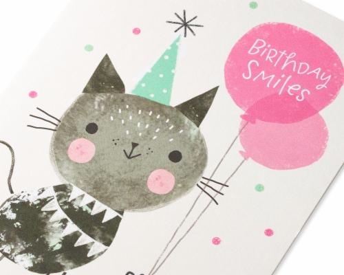 American Greetings #20 Birthday Card (Smiles) Perspective: top
